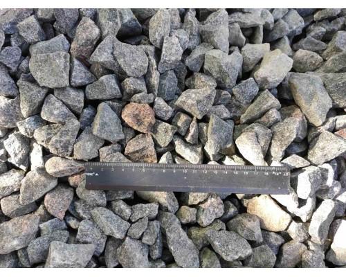 Щебень гранитный в мешках 20-40 мм 40 кг.