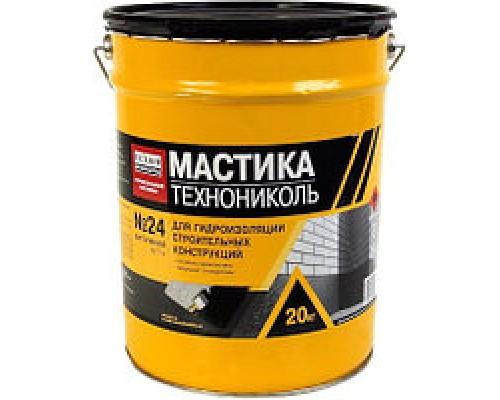 Мастика гидроизоляционная Технониколь №24, 20кг
