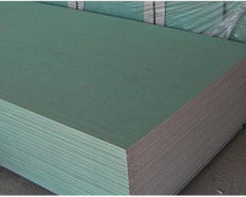 Гипсокартон потолочный влагостойкий 2500х1200х9,5 мм