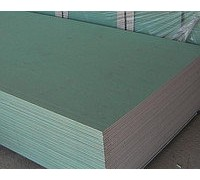 Гипсокартон стеновой влагостойкий 2500х1200х12,5мм