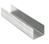Профиль для гипсокартона UD 27x28, длина 3м, толщина металла 0,5 мм