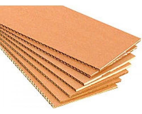 Картон укрывочный трехслойный 2000х1000х3