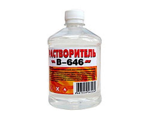 Растворитель «В-646» 0,5л