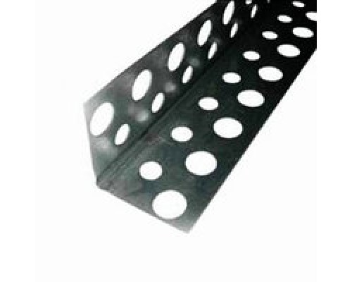 Угол перфорированный алюминиевый, 3м
