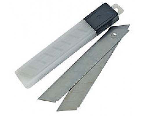 Лезвия для ножа малярного 18 мм, пачка 10шт