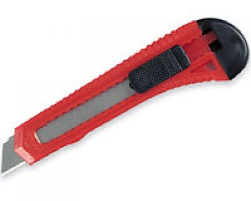 Нож малярный с выдвижным лезвием 18мм
