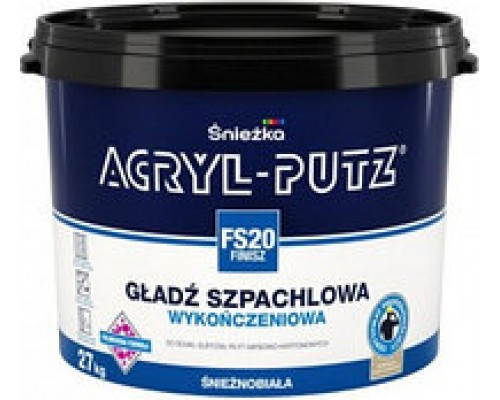 Шпатлевка Acryl-Putz финиш. Польша, Sniezka. 17 кг