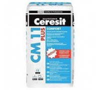 Клей для керамогранита усиленной фиксации Ceresit CM11 Plus 25 кг