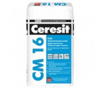 Клей для теплого пола Ceresit CM16 Flex 25 кг