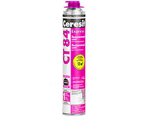 Клей-пена Ceresit CT-84 под пистолет для приклеивания пенополистирола 850 мл