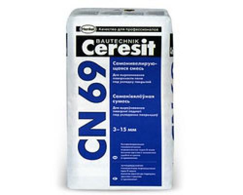 Самонивелир быстротвердеющий Ceresit CN69, 25кг