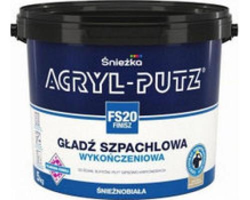 Шпатлевка Acryl-Putz финиш. Польша, Sniezka. 8 кг