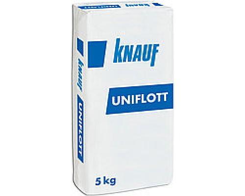 Шпатлевка Унифлот Knauf в мешках по 5кг