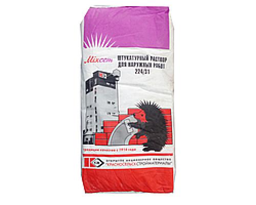 Штукатурка цементная для наружных и внутренних работ 25 кг