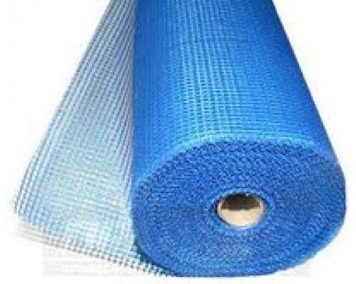 Стеклосетка фасадная штукатурная 160г/м2 50 м(Синяя)